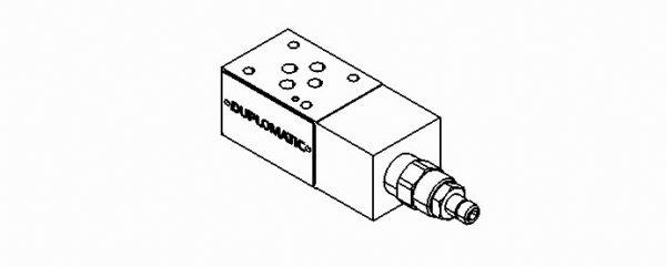 Controle de pressão CETOP 03