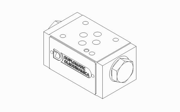 Válvula de retenção CETOP 03